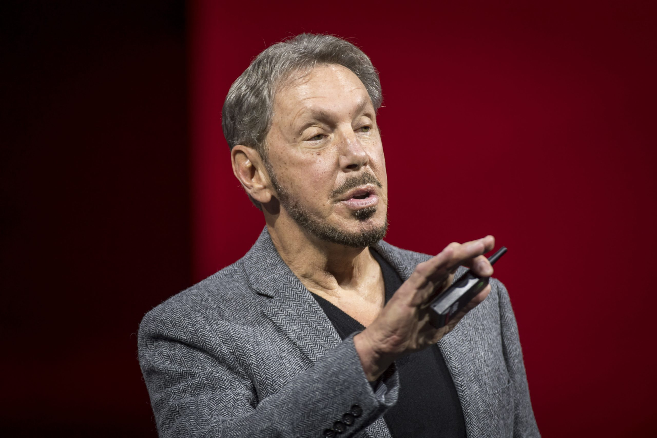 Oracle employees protest Larry Ellison's Trump fundraiser