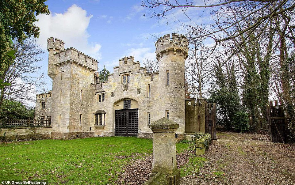Castle Airbnb near Bath with a clockhouse where stays start from just £13 per person per night
