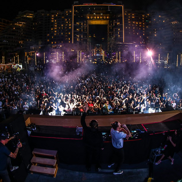 Now DUBAI is on the music festival circuit with the Luvya festival at the Five Palm Jumeirah Hotel