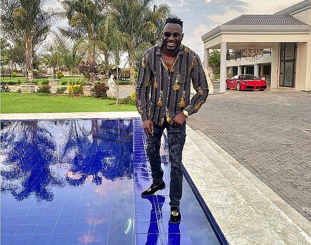 Zimbabwe socialite killed in car accident after posting a video saying he would 'pop champagne'