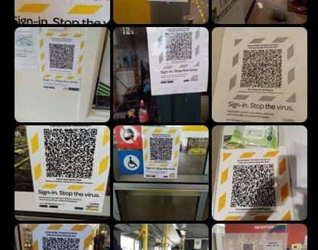 A collection of photos found on a grandfathers phone has exposed a major flaw with the QR system
