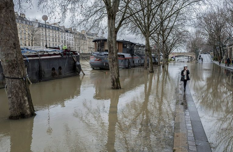 Paris flooded by Seine and German shipping stalled by high water as rivers across Europe burst banks